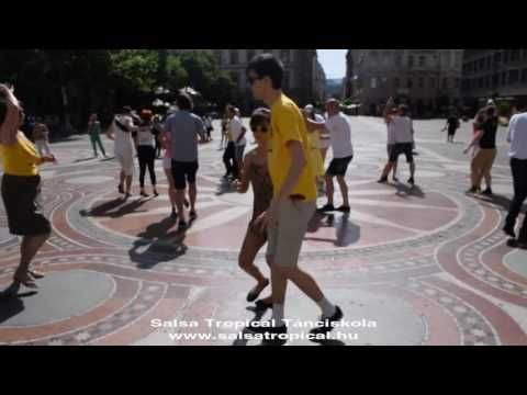 Salsa Tropical Tánciskola - Flashmob day (2015.06.25), Bazilika, Budapest