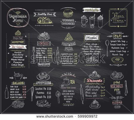 12 best Pizarron gastronomía images on Pinterest Cafe menu - drinks menu template