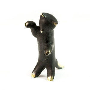 Standing Cat Figurine