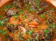 Recette - Joue de boeuf grillée en gremolata et légumes du pot au feu | Notée 4.3/5