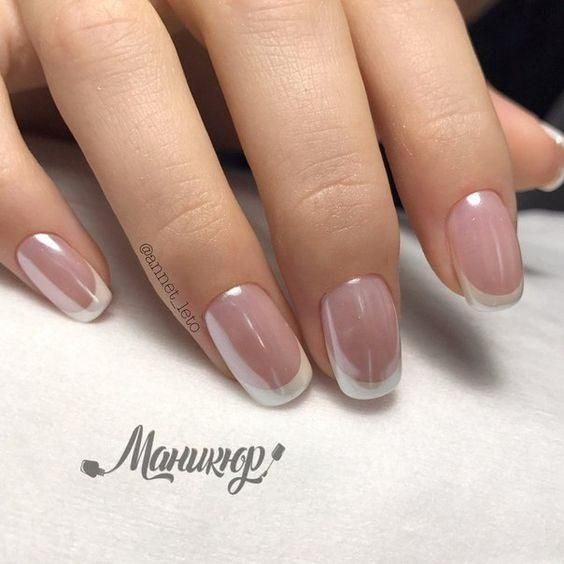 Gently And Elegantly - Newest Ideas of French Manicure!