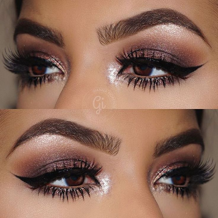 "⠀⠀⠀⠀GIANNA FIORENZE on Instagram: ""BROWS @anastasiabeverlyhills Brow Wiz in Soft Brown & Dipbrow Pomade in Chocolate with Clear Brow Gel to set. EYES @anastasiabeverlyhills #SelfMadePalette Sherbet in the crease Metallic Plum on the lid Pink Champagne on inner corners Starlight Illuminator on brow bone LASHES @hudabeauty @shophudabeauty Lashes in Carmen @toofaced Better Than Sex Mascara ✨Used my @sigmabeauty brushes for this look✨ #sigmabeauty """