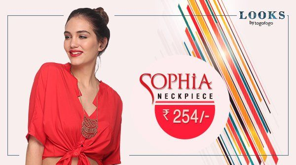 Showcase your love & classy taste for #Sophia Neckpiece. http://bit.ly/2acvAco  #Fashion #Trends #Accessories