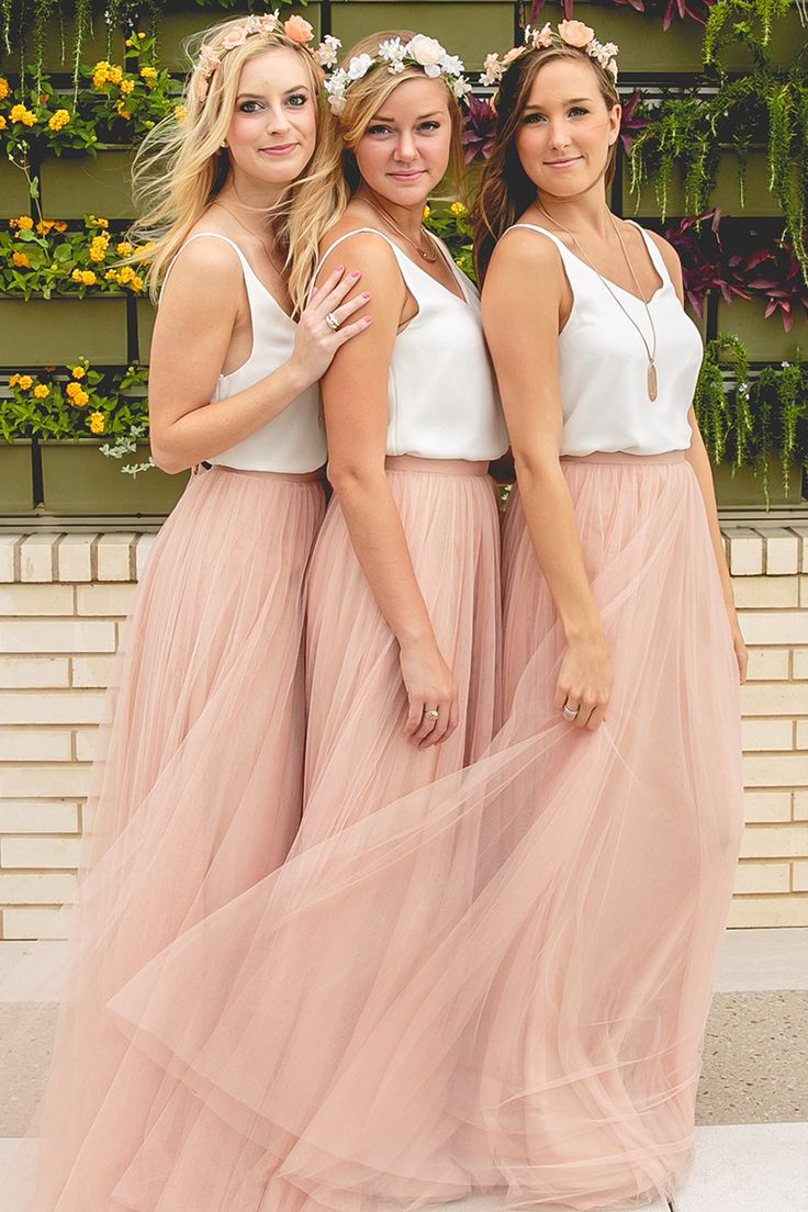 Special bridesmaid dresses image collections braidsmaid dress 130 best bridesmaids images on pinterest bridal hairstyles handmade blush maxi tulle skirtplus size tutu skirtsmaxi ombrellifo Choice Image