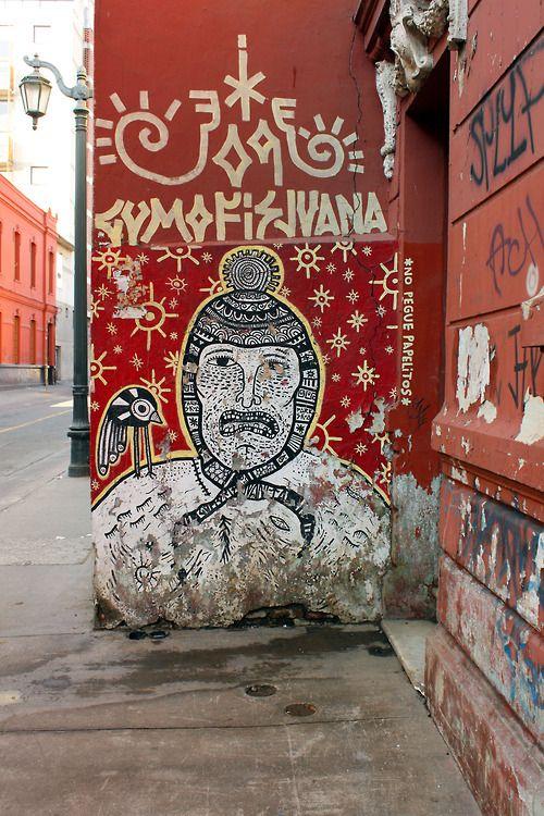 Barrio Yungay. Santiago, Chile.