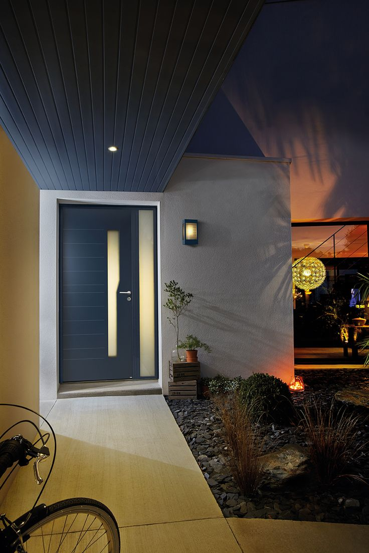 17 best porte d 39 entr e mixte ambiance images on for Luminaire porte entree