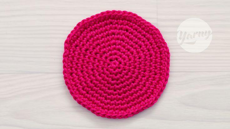 Download dit gratis schema voor het haken van een perfect ronde cirkel. Dit schema vormt de basis voor cirkels van vasten, halve stokjes en stokjes.