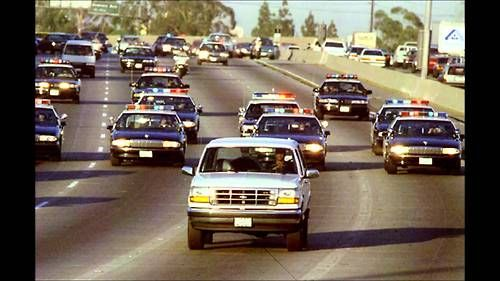 The OJ Simpson Ford Bronco Chase June 17, 1994