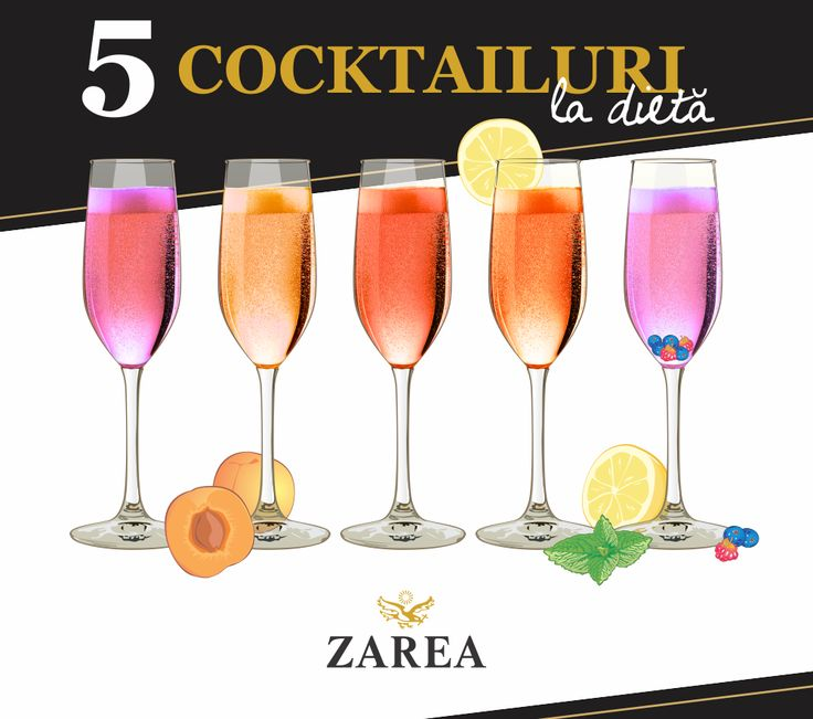 5 retete de cocktail cu calorii puține - de la Zarea.ro