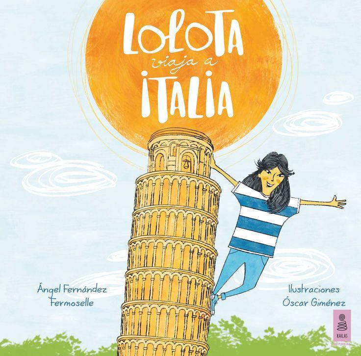 Lolota viaja a Italia, pero en vez de empezar por Roma (según ella, como todo el mundo), inicia sus aventuras en Sicilia, ¿será posible? Tal vez su padre tenga preparada alguna sorpresa.  En su periplo por Italia, además de comer riquísimas y abundantes pizzas, Lolota recorre ciudades maravillosas para conocer sus principales monumentos: Roma y el Coliseo; Pisa y la torre inclinada; Florencia y el Ponte Vecchio, y Venecia y sus góndolas. ¡Menudo ajetreo!