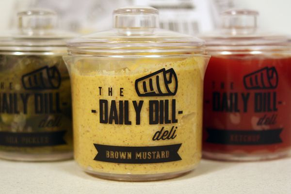 The Daily Dill Deli Packaging by Rachel Cannon, via Behance
