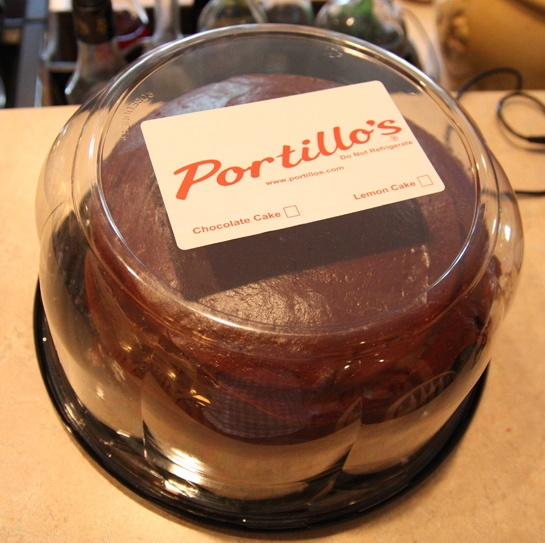 Portillos Cake Price