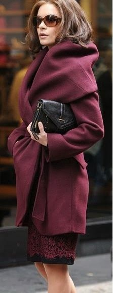 OxBlood on The Villa Alphie | Best Coats 2013 This is such a beautiful coat shopping.downjacketshoponline.com $190 #WhatSheWants Do Not Lose The Chance To Own Moncler jacket With A Low Price