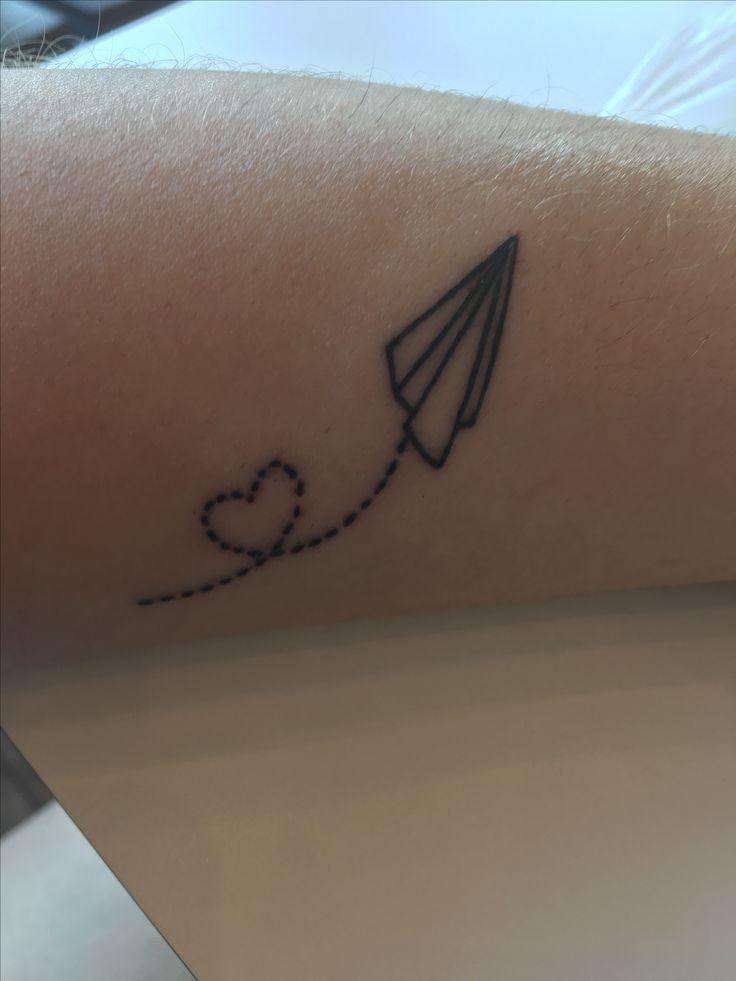 25 Melhores Ideias Sobre Tatuagem Aviao No Pinterest