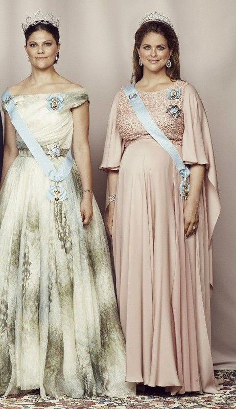 Royal Sisters.. Crown Princess Victoria of Sweden and Princess Madeleine of Sweden