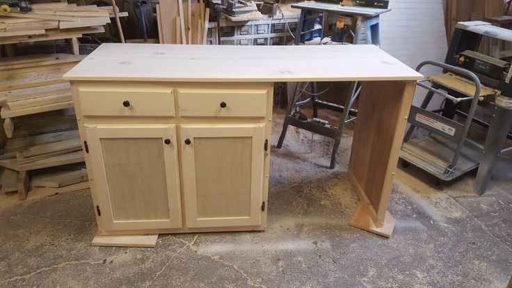 Pine Dishwasher Cabinet 65 inch long 36 inch high 26.25 ...