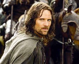 """""""And I find myself thinking, 'If only I could find a man like Aragorn.'"""""""