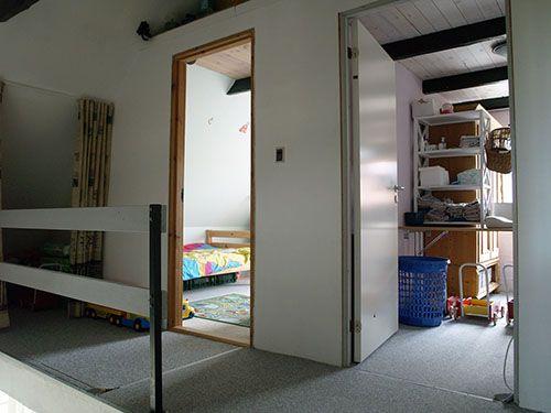Fritids hus til salg på Samsø med to gode børneværelser