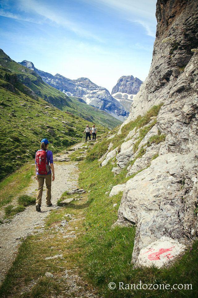 Randonnée dans le Parc National des Pyrénées. France.