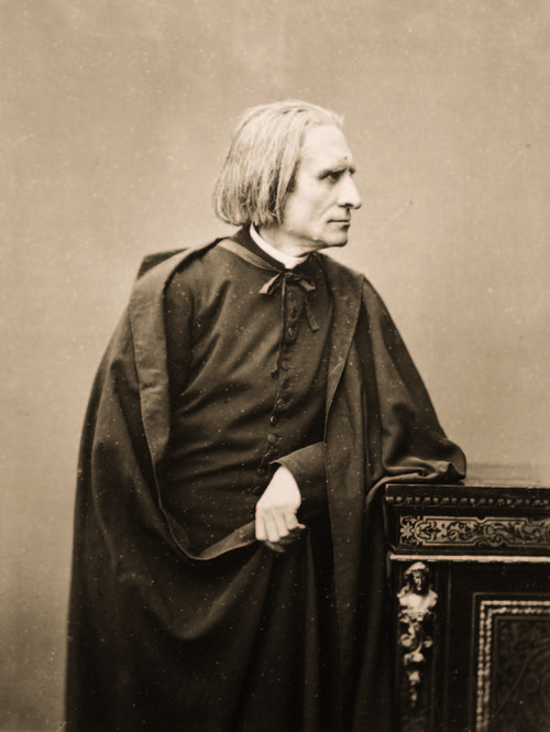 a biography of franz liszt a classical composer