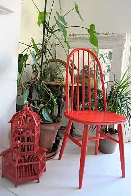 Painted chairs (project)