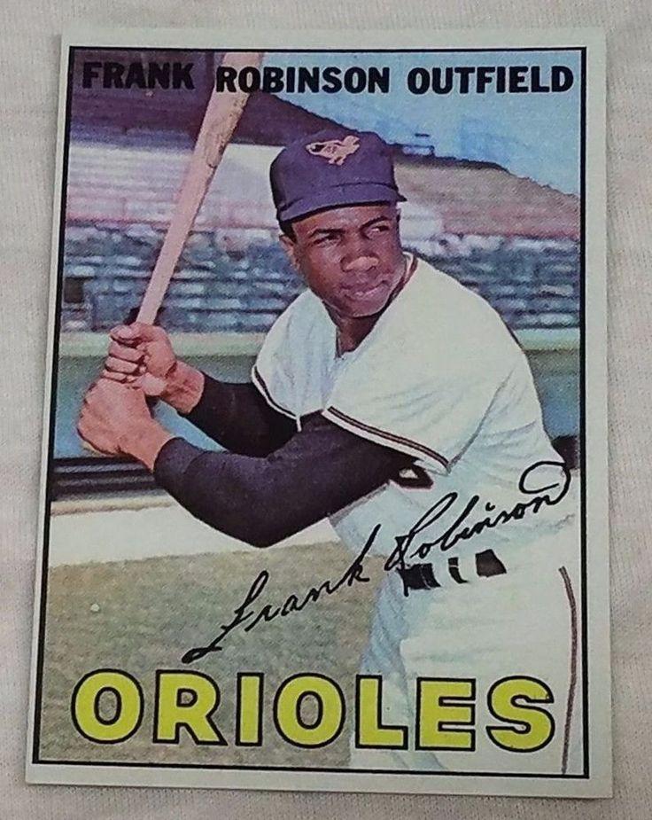 1967 Topps Frank Robinson REPRINT | Sports Mem, Cards & Fan Shop, Sports Trading Cards, Baseball Cards | eBay!