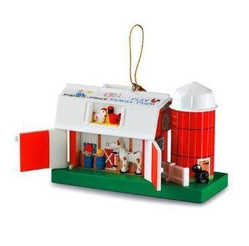 Fisher Price Toys Hallmark Christmas Ornaments http://www.hookedonhallmark.com/Fisher-Price-Toys_c_859.html