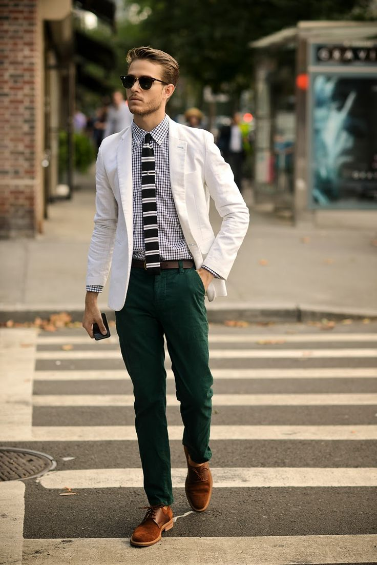 Nice use of green - that's Dapperness