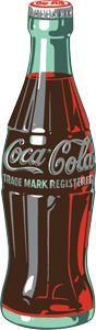 Chapa metálica decorativa botella Coca-Cola Decoración americana www.usamericanshop.com #cartelvintage