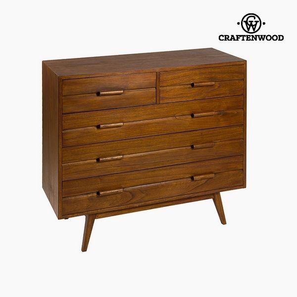Chest Of Drawers Mindi Wood 100 X 40 X 86 Cm Chocolate Collection By Craftenwood Chest Of Drawers Mindi Wood Furniture Home Furniture Decor