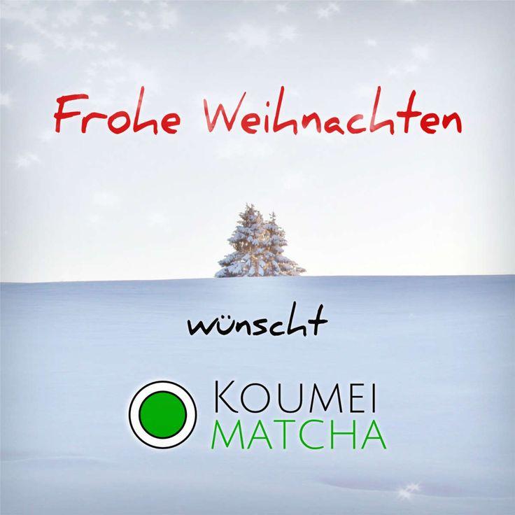 Allen Teeliebhabern, Matcha Fans und Freunden von Koumei Matcha ein frohes Fest und gemütliche Weihnachtsfeiertage! Besuche uns doch mal http://www.koumei-matcha.de #Weihnachten #Matcha #Teeliebhaber #MatchaMoments