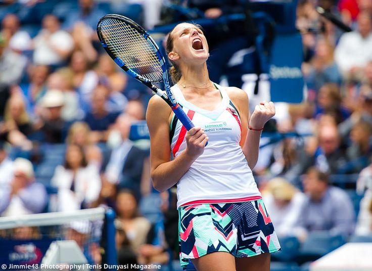 The Latest: No. 1 Pliskova powers into US Open quarterfinals ... Pliskova powers into US Open quarterfinals, overwhelming American Jennifer Brady in 47 minutes  usatoday.com