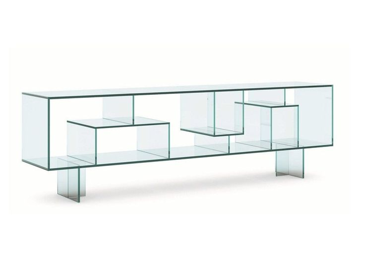 Double-sided glass sideboard LIBER M By Tonelli Design design Luca Papini - 25+ Best Glass Sideboard Ideas On Pinterest Dining Room Buffet