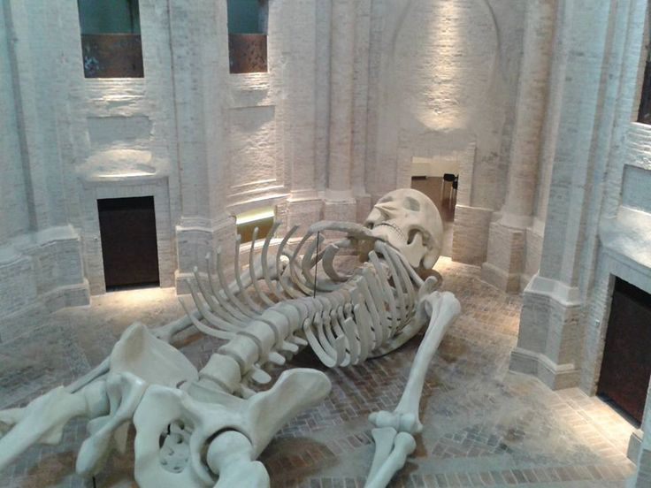 Calamita Cosmica -ex chiesa dell'Annunziata #CIAC #Foligno #ginodedominicis