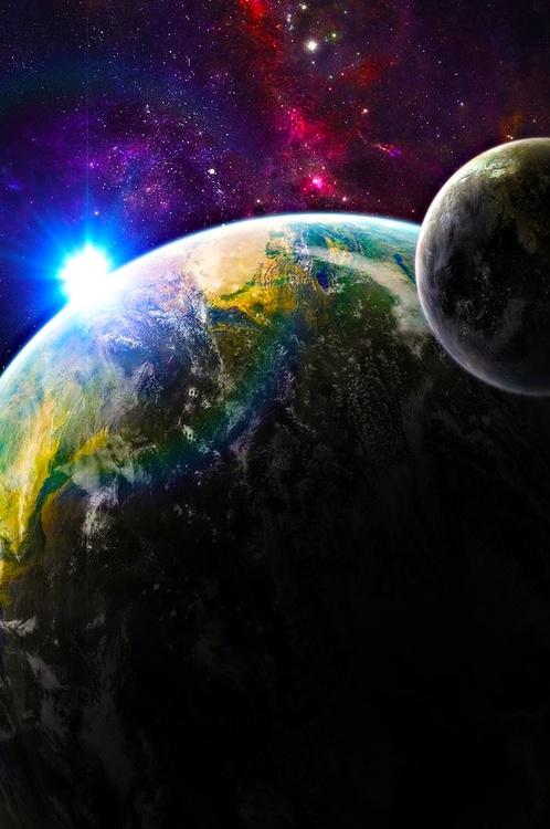 Terra Nova space art