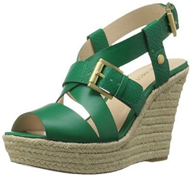 Perfect for Summer! Women's Jentri Synthetic Wedge Sandal