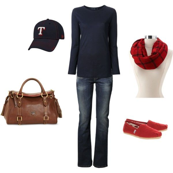 Casual Texas Rangers Outfit