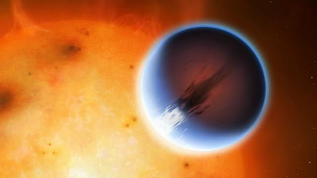 planeta com ventos mais rápidos que o som (e temperatura de 1.200ºC)