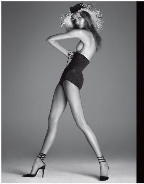 Karlie Kloss photographed by Steven Meisel for Vogue Italia, December 2011.