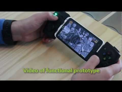 PhoneJoy's New Play GamePad Is A Universal Smartphone Game Controller That Hugs Your Gadget