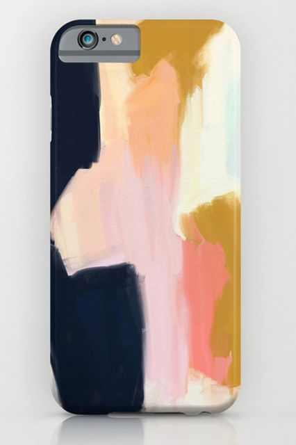 The Easiest Way To Update Your Outfit? Start With Your Phone  #refinery29  http://www.refinery29.com/cool-iphone-case#slide-3  Art for your phone.