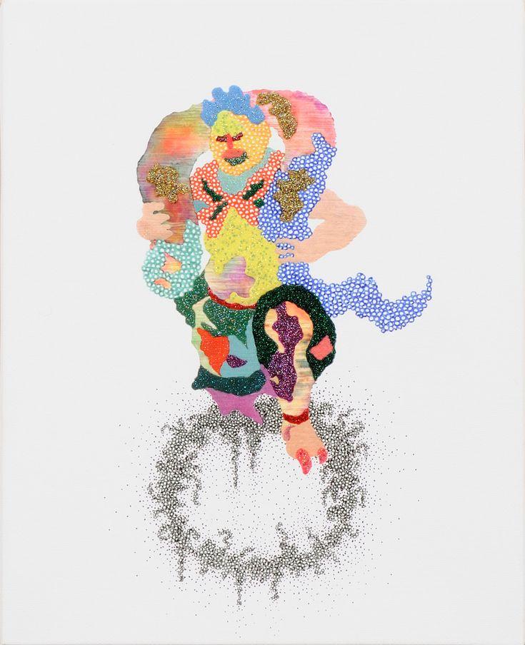 びょうげんたい風伯 / Tomoaki TARUTANI #ART #Contemporary ART #POP ART #Mandala #曼荼羅