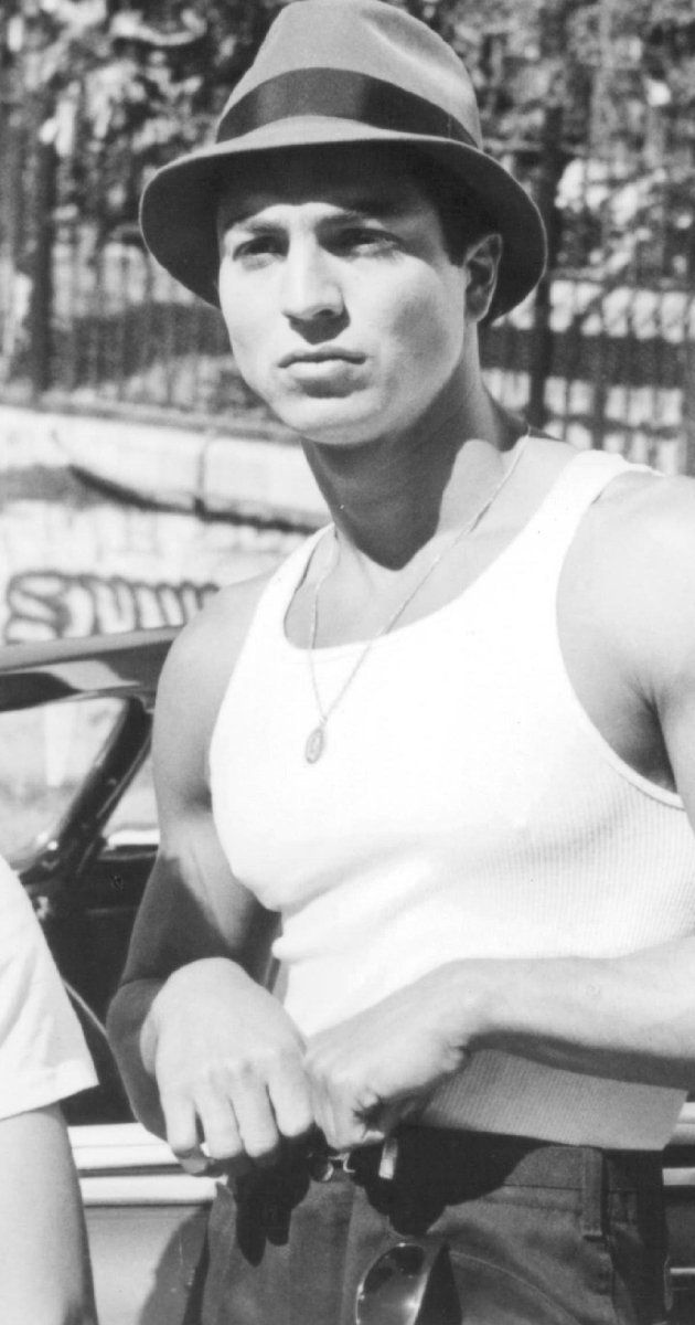 "Here's Benjamin Bratt in ""Blood In Blood Out"" mmmmm yummy!"