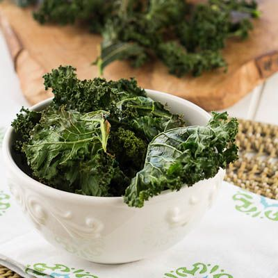 Recipe: Crispy Kale Chips