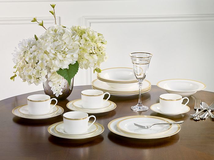 Bone China Tableware | Tablesettings & Dining Room Decor