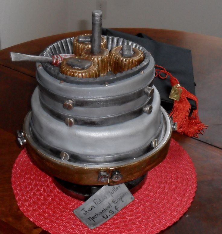Cake Design For Engineer : An interesting cake for any person interested in #engines ...