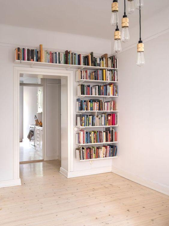 60 Creative Bookshelf Ideas That Beautify Your Home – LIBRARY – # Büc … – #beautify #books…