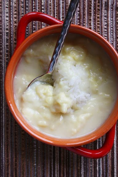Snippet Preview Sweet Sticky Rice with Durian-Coconut Cream
