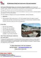 Design & Construction of LPG TANK