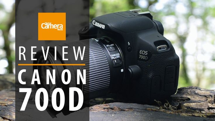 Canon EOS700D demonstration of features